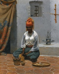 making tea in algiers by vasili fedorovich (george wilhelm) timm