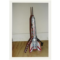 childhood toy rocket, given away on 1 july 2008 by hans aarsman