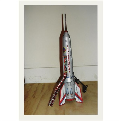 childhood toy rocket given away on 1 july 2008 by hans aarsman