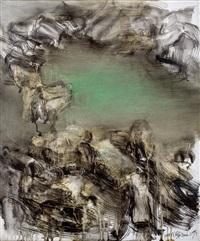 山水精神 (spiritual landscape) by zhou chunya