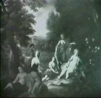diana and callisto by jan pieter ykens