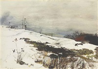 over the hill by andrew wyeth