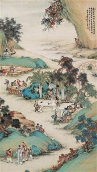 figures by qian xiong