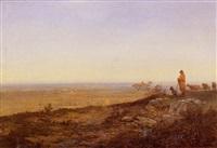 berger devant la plaine aux environs de beauvais by jean-jean cornu