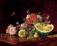 still life with fruits by pal vago
