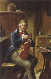 tuning the violin by alexander austen
