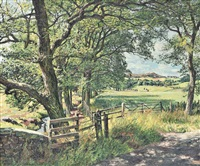 knapp road, perthshire, scotland by james mcintosh patrick