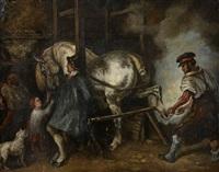 le maréchal-ferrant flamand by théodore géricault
