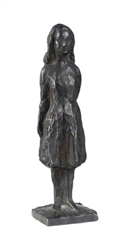 design for anne frank, standing by mari silvester andriessen