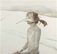 winter carnival by andrew wyeth