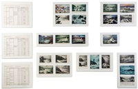 rough sea (22 works) by susan hiller