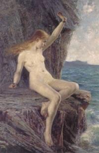 andromeda vid havet by hilma af klint