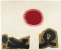 excaliber #2 by adolph gottlieb