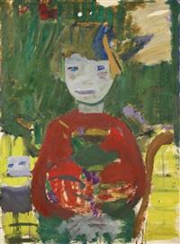 dziewczyna w czerwonej sukience by artur nacht-samborski
