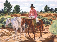 the white pack by walter ufer