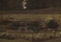 landskapsstudie (study) by knud andreassen baade