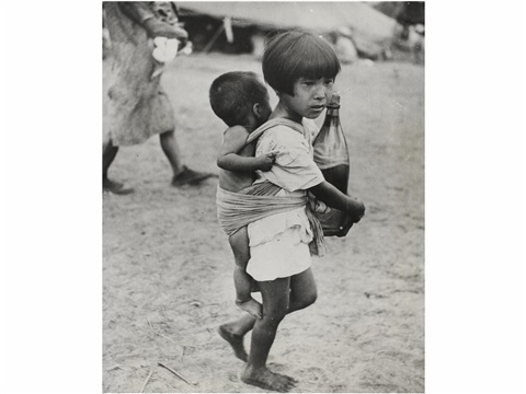 niña japonesa saipan by w eugene smith