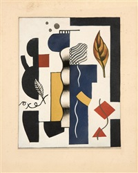 automne by fernand léger
