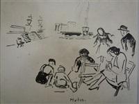 les gosses de paris (au jardin public) by maria-mela muter