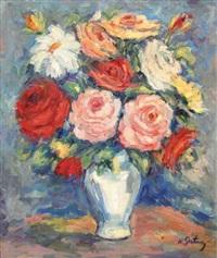 vase de fleurs by nathan gutman