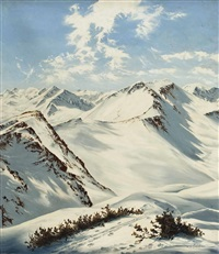 gasteiner skiparadies by w.j. boschan