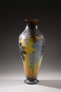 grand vase by émile gallé