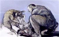 l'homme au chien by françois anton