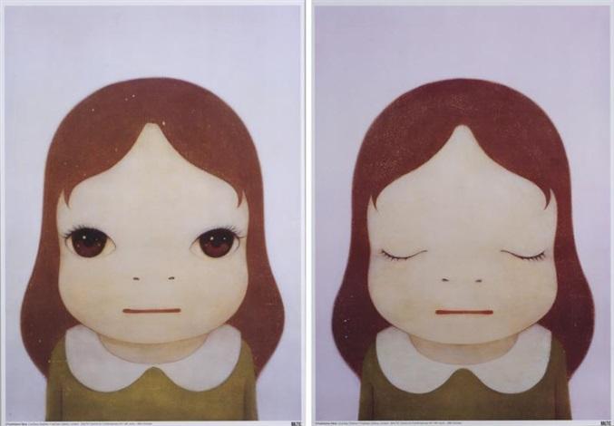 cosmic girl 2 works by yoshitomo nara