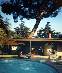 c. buff, c.straub, d. hensman, case study house #20, altadena, california by julius shulman