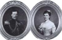 landshovding adolf malmborg (1842-1913) och         fru julia malmborg (1853-1921) by berta valerius