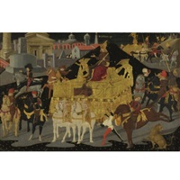 the triumph of scipio africanus by apollonio di giovanni di tommaso