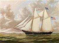 the schooner j.w. seaver headed out by joseph smith