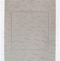 quadrato inciso con bande bianche by alfredo rapetti