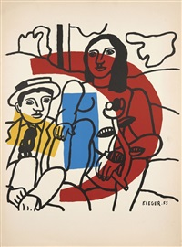 couple by fernand léger