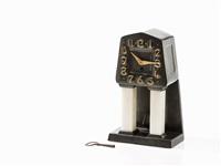 table clock by albinmüller