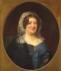 portrait of lady elizabeth pack by anglo-irish school (19)