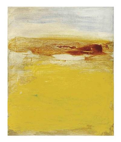 untitled with ochre by bill jensen