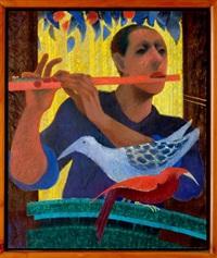 el flautista by jorge alzaga