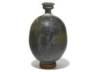 bottle form vessel by peter voulkos