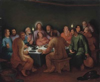 the last supper by cornelis cornelisz van haarlem
