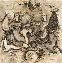 sans titre (from des amours de koshro et shirin) by sadegh tabrizi