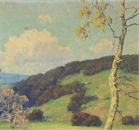maurice braun landscape by maurice braun