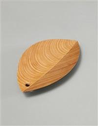 rare leaf dish by tapio wirkkala