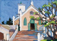 st. peter church, st. george's, bermuda by nora frances elisabeth collyer