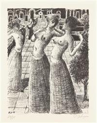 la danse (the dance) by paul delvaux