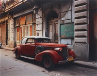 vintage car with composite parts, havana by robert polidori