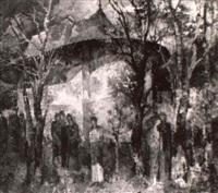 l'eglise arbore by gheorghe apostu