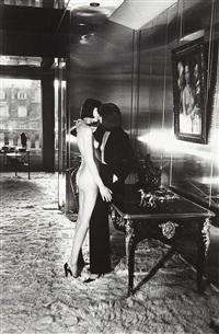 mannequins, quai d'orsay, paris by helmut newton