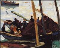 venetian boats by randolph stanley hewton