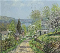 hillside and valley, point pleasant by edward willis redfield
